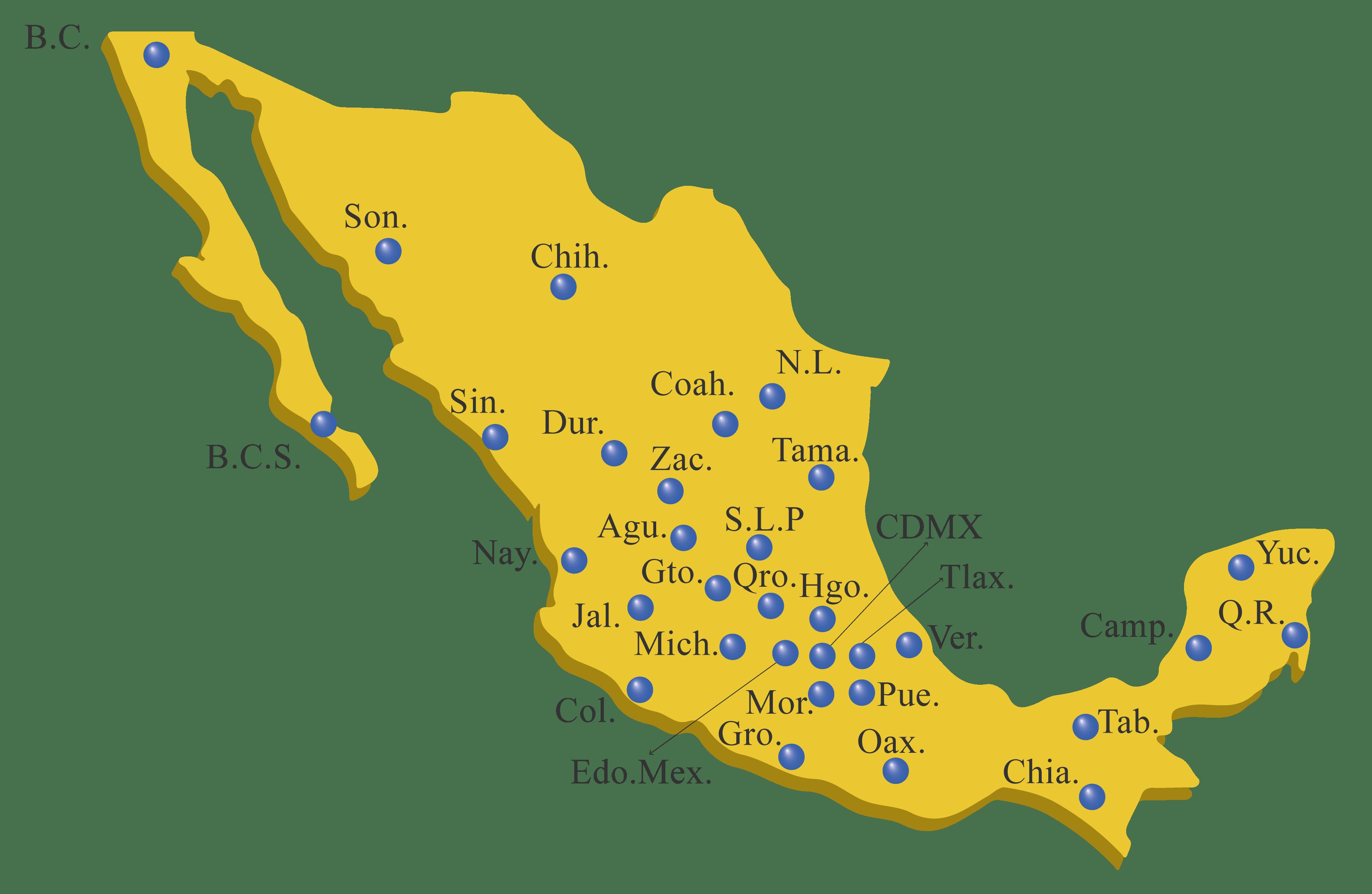 Mapa Distribución Nutripavo
